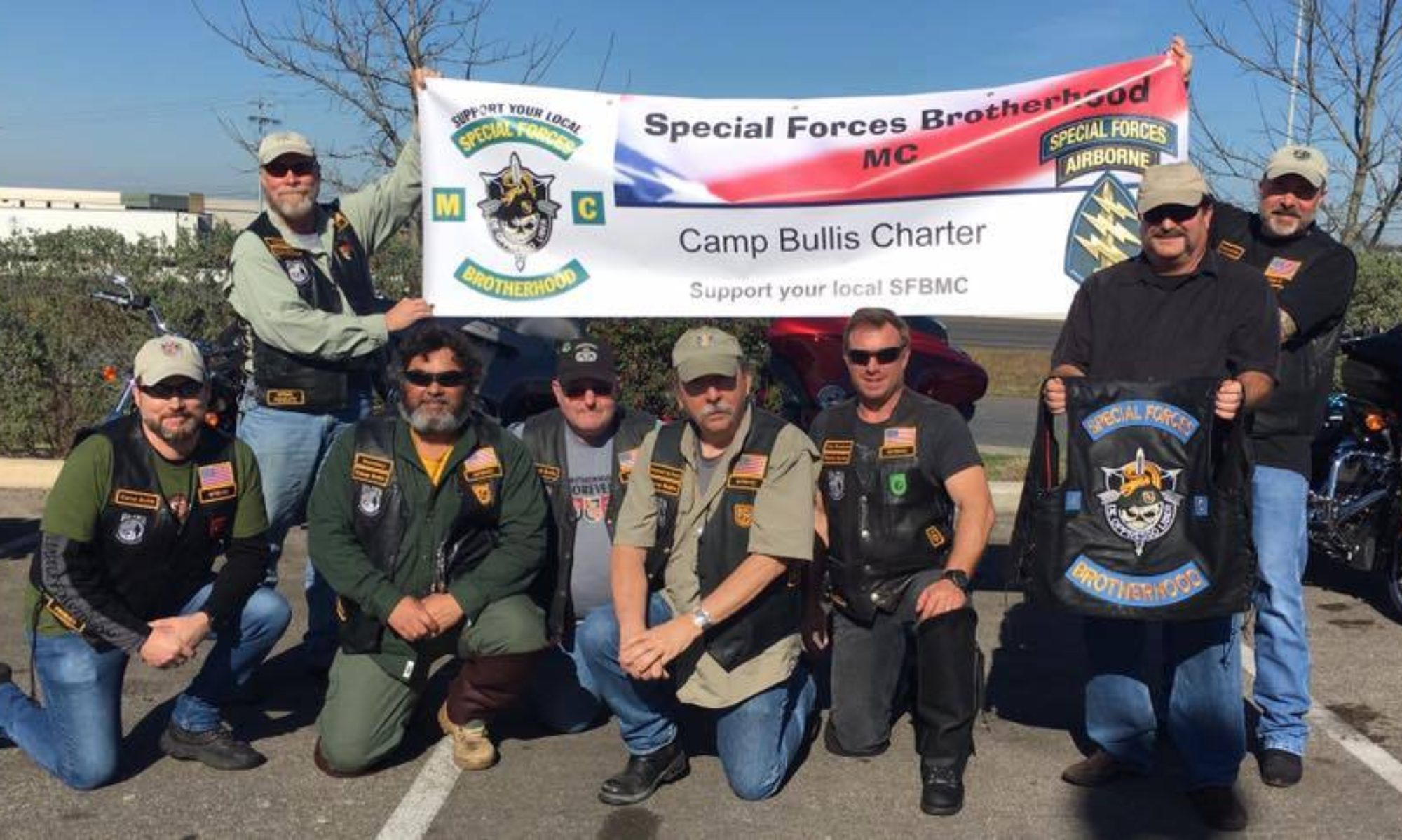 Special Forces Brotherhood MC Camp  Bullis
